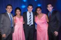 Daniel Dominguez, Mariel Martinez, Gilberto Esparza, Vianney Garduza y Rodolfo Muciño