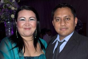 Lorena Guerrero y Jose Luis Cortés