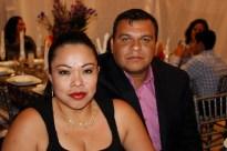 Isabel Palma y Gustavo Bucio
