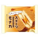 ファミリーマート/「スイーツモナカ キャラメルバターサンド」発売