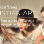 Christian Art: Be provocative