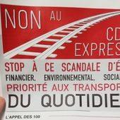 Courrier de l'association NON au CDG Express à la Présidente de la région Ile-de-France