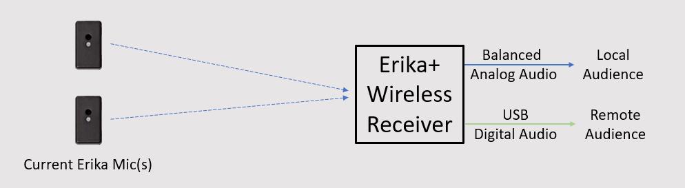 Erika Wireless Receiver