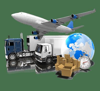 บริการขนส่งทั้งทางบกทางเรือและทางอากาศไปยังจีนและประเทศต่างๆทั่วโลก