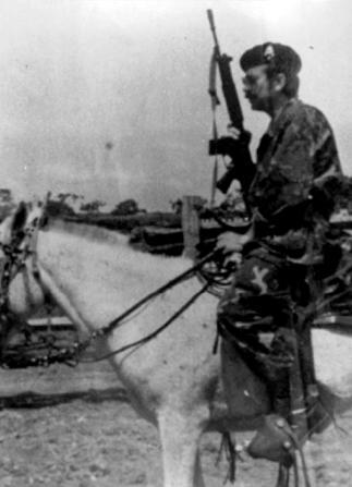Joachim Fiebelkorn en Bolivia. Imagen del documento 'My enemy's enemy', sobre la figura de Kalus Barbie,
