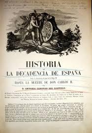 Canovas historia de la decadencia de españa