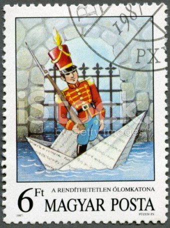stock-photo-21325373-postage-stamp-hungary-1987-steadfast-tin-soldier-hans-christian-andersen