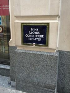 Lloyds Coffeehouse