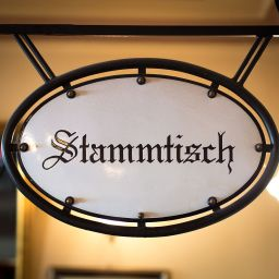 "<span class=""entry-title-primary"">Stammtisch **</span> <span class=""entry-subtitle"">A table in a bar reserved for regular customers</span>"
