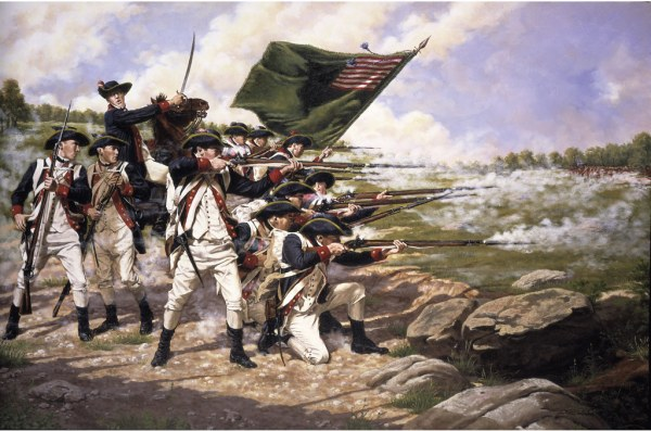 revolutionary war secret of history