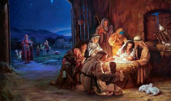 Have a Merry Christmas and reflect on this image of the Nativity Scene