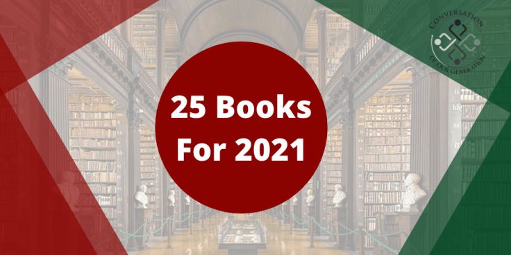 Check out these 25 must read books for 2021