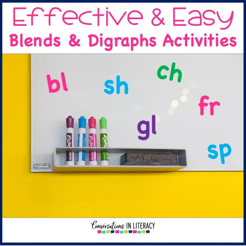 Blends And Digraphs Activities