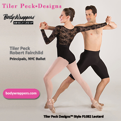 tiler peck, body wrappers, tiler peck designs, robert fairchild, dance wear corner, conversations on dance
