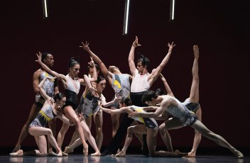 San Francisco Ballet dancers in Annabelle Lopez Ochoa's 'Guernica.'  Photo by Erik Tommason
