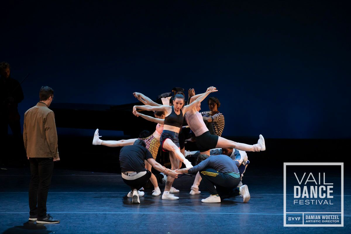 the vail dance festival, vail dance festival, justin peck, herman cornejo, new york city ballet, choreography, Damian Woetzel, Alastair Macaulay, The New York Times, Chief dance critic, miami city ballet, professional ballet dancer, ballerina, ballet company, ballet festival, conversations on dance, dance podcast, ballet podcast, rebecca king ferraro, michael sean breeden