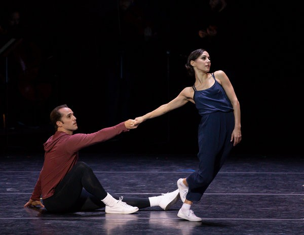 patricia delgado, jared angle, vail dance festival, the vail dance festival, miami city ballet, new york city ballet, principal dancers, pas de deux, dance partnership, ballet partnering, justin peck, year of the rabbit, new choreography, rebecca king ferraro, rebecca king, michael sean breeden, conversations on dance, dance podcast, ballet podcast,
