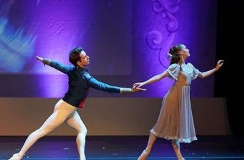 Michael Sean Breeden and Rachel Quiner in The Nutcracker - Conversations on Dance Podcast