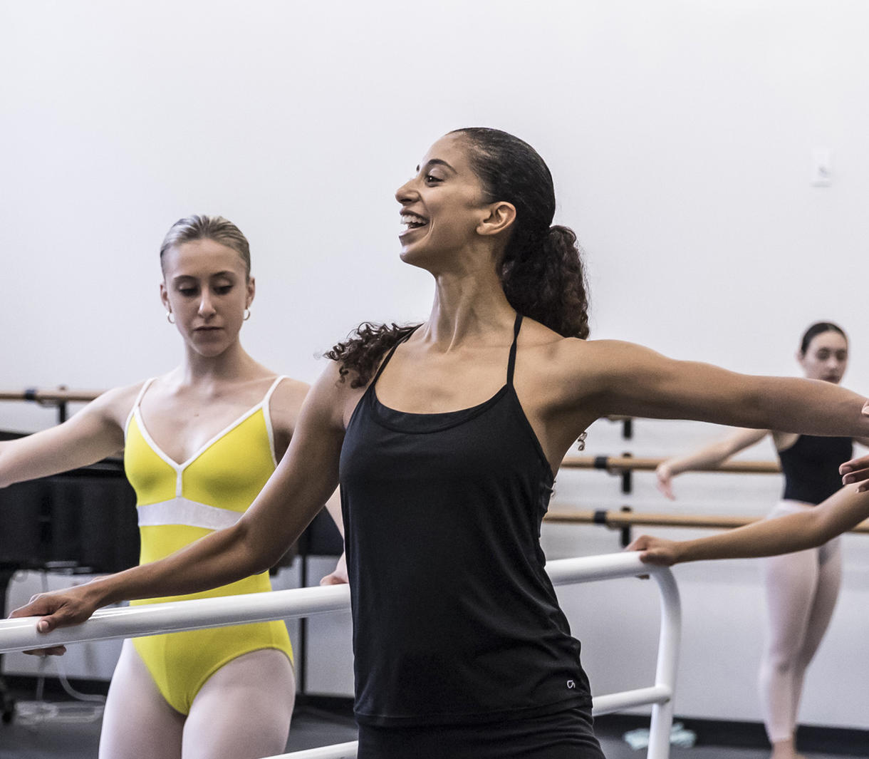 Alicia Graf mack, conversations on dance, the juilliard school, dance division, higher education, ballet program, juilliard, rebecca king ferraro, michael sean breeden, alivin ailey, complexions contemporary ballet, LINES ballet, dance class, dance education,