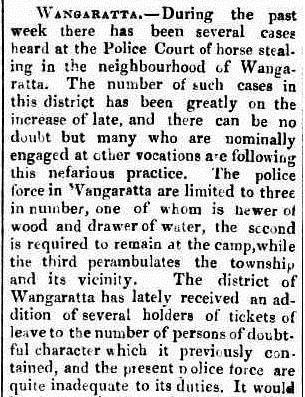 Ovens & Murray Advertiser, 18th October 1857