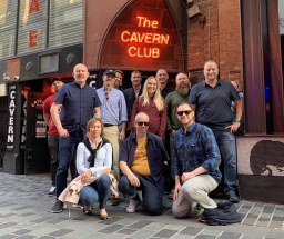 CRE's team at The Cavern Club