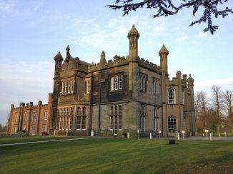 Hawkesyard Hall.