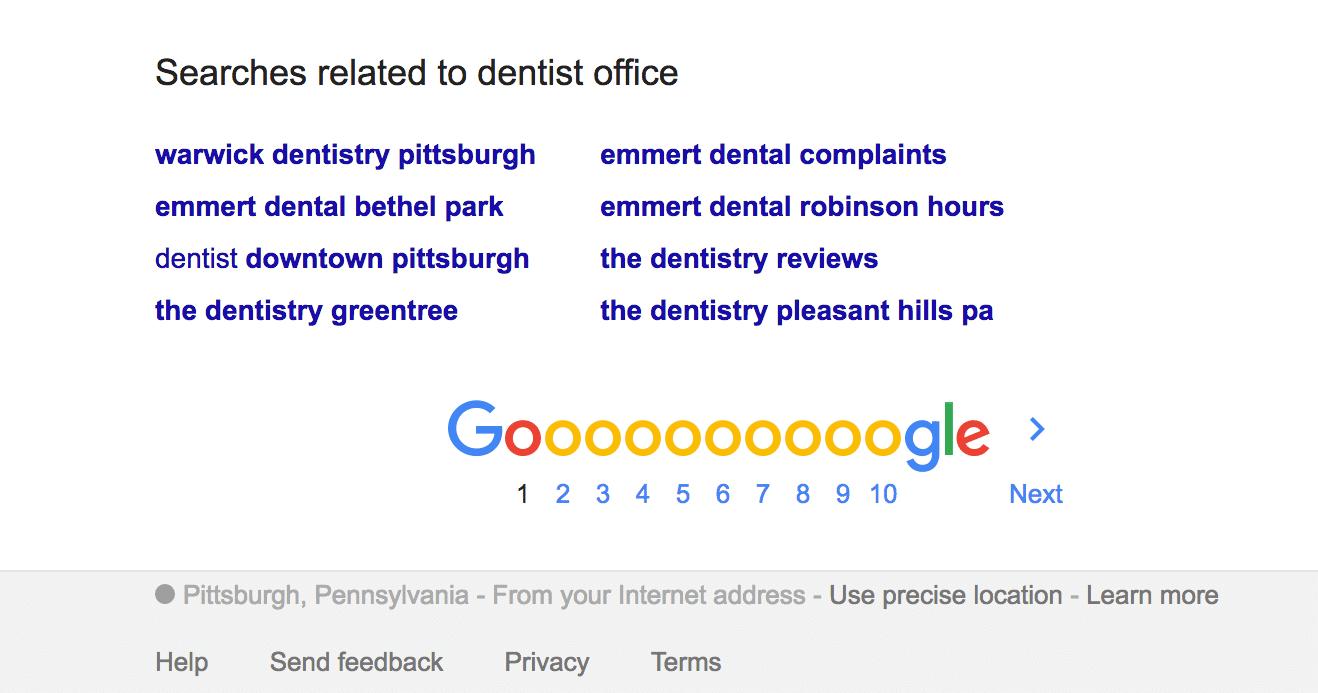 dentist office Google Office