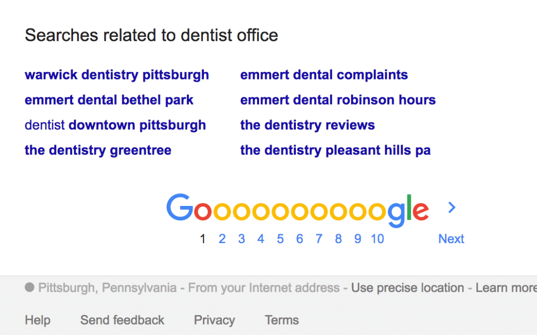 "Dentist Google Ads Review ""Dentist Office"" – Pittsburgh, PA"