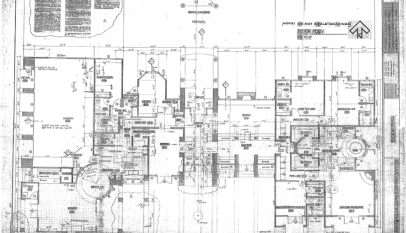 Converted tattered old site plan to autocad convert scanned floor plan to autocad malvernweather Images
