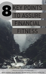 Financial Fitness Checklist from our Financial Coaches