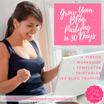 Grow Your Blog Partying in 30 Days