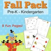 Fall Printables for Preschoolers