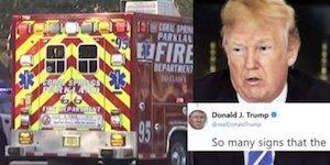 Trump blames the Parkland massacre on the victims in dreadful morning Tweet