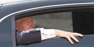 Trump's disgraceful pitstop