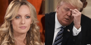 Stormy Daniels and Trump