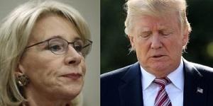 DeVos and Trump