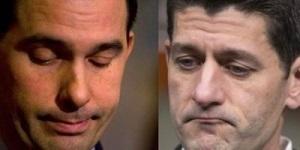 Scott Walker and Paul Ryan