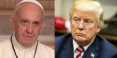 Pope and Trump