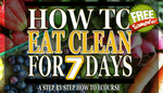 How to eat clean short cover free sample