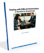 Dealing with difficult relationships 3d cover
