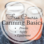 Free course canning basics square image instagram size for ck landing page