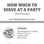 How much to serve small