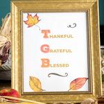 Thankful grateful blessed convert kit