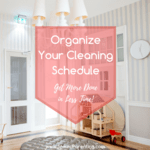 Organize your cleaning schedule instagram 2