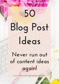 50 blog post ideas %282018%29