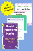 Smart parenting hacks pic