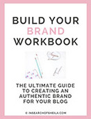 Branding workbook cover