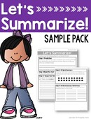 Summarizing sample pack cover
