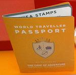 Passport case of adventure