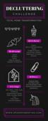 Decluttering challengo infographic